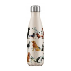 Chilly's Bottle 500ml Dogs by Emma Bridgewater