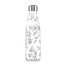 Chilly's Bottle 500ml Line art Flowers