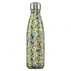Chilly's Bottle 500ml Floral Sunflower