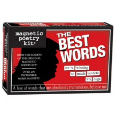 Magnetic Poetry Kit - The Best Words (Trump)