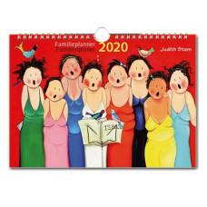 Familieplanner week notitiekalender Judith Stam 2021