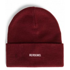 Herschel Supply Beanie Elmer ID Windsor Wine