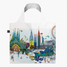 LOQI vouwtas Kristjana S Williams Interiors World Skyline Bag