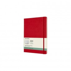 Moleskine 2021 WEEKLY NOTEBOOK DIARY X-LARGE Hard Red