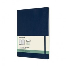 Moleskine 2022 WEEKLY NOTEBOOK DIARY X-LARGE Soft Blue