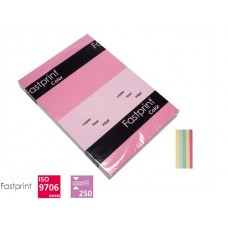 Fastprint print en kopy A4 80gr 5 x 50 vel zachte kleuren