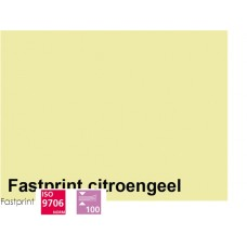 Fastprint print en kopy A4 120 gram citroengeel 100 vel