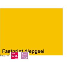 Fastprint print en kopy A4 120 gram diepgeel 100 vel