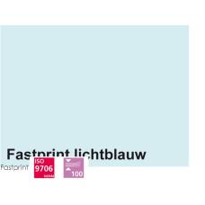 Fastprint print en kopy A4 120 gram lichtblauw 100 vel