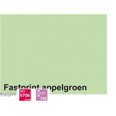 Fastprint print en kopy A4 120 gram appelgroen 100 vel
