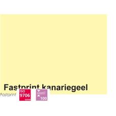 Fastprint print en kopy A4 120 gram kanariegeel 100 vel