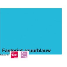 Fastprint print en kopy A4 120 gram azuurblauw 100 vel