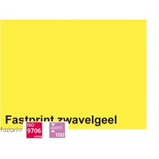 Fastprint print en kopy A4 120 gram zwavelgeel 100 vel