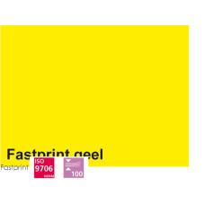 Fastprint print en kopy A4 120 gram geel 100 vel