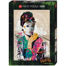 Audrey Hepburn 1000 stukjes