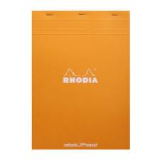 Rhodia bloc A4 geniet dot Pad oranje