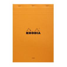 Rhodia bloc A4 geniet Lined oranje