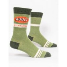 Mens Crew Socks, Adult In Training