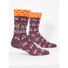 Mens Crew Socks, Butthead of the Household