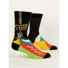 Mens Crew Socks,  Classic rock socks