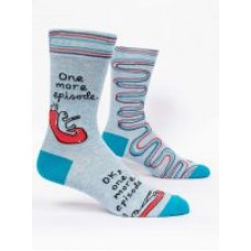Mens Crew Socks, One More Episode