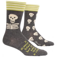 Mens Crew Socks,  I almost died