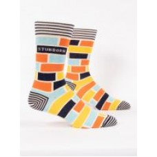 Mens Crew Socks, Stubborn