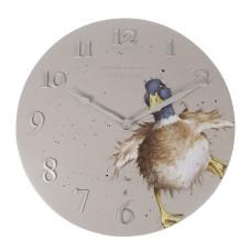 "Wrendale Design wandklok ""A Waddle and a Quack"" Eend"