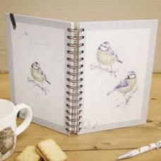 Wrendale Design by Hannah Dale Notebook Ring A5 'Blue Tits' Birds
