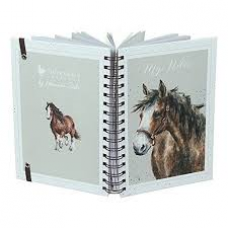 Wrendale Design by Hannah Dale Notebook Ring A5 'Spirt' Horse