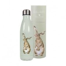 Wrendale Design water bottle Hare
