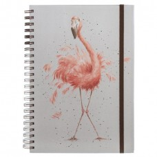 Wrendale Design by Hannah Dale Notebook Spiraal A4 Pretty in Pink