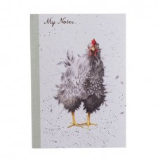 Wrendale Design by Hannah Dale Notebook Softcover A5 'Curious Hen'