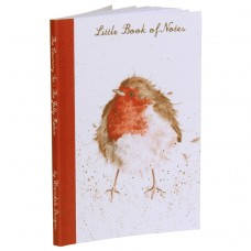 Wrendale Design by Hannah Dale Notebook Softcover A5  'The Jolly Robin'