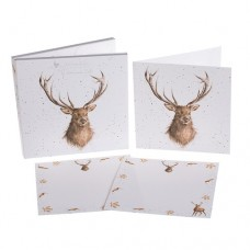 Wrendale Design by Hannah Dale Notecards 'Portrait of a Stag'