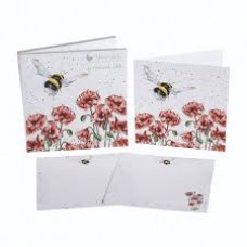 "Wrendale Design by Hannah Dale Notecards ""Flight of the Bumblebee"