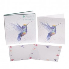 Wrendale Design by Hannah Dale Notecards Hummingbird