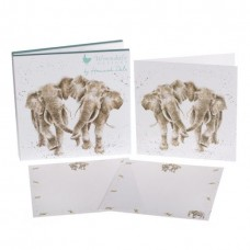 Wrendale Design by Hannah Dale Notecards Elephant