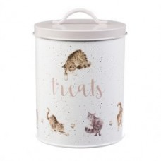 Wrendale Design by Hannah Dale Cat Treat Tin