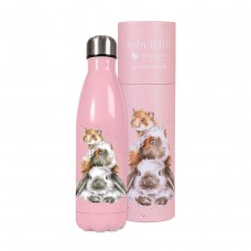 Wrendale Design water bottle Piggy in the Middle