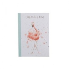 Wrendale Design by Hannah Dale Notebook Softcover A5 Flamingo