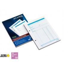 Rekeningblok A5415-050 A5 50x2vel zelfkopierend