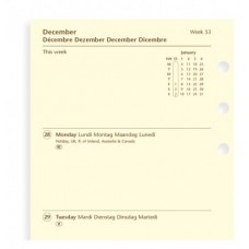 Filofax calendarium Week on two Pages diary 2021