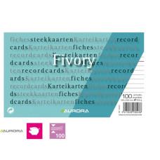Systeemkaart / Flashcard  gelinieerd 125 x 200 mm