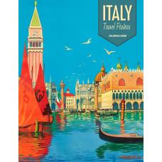 Kleurboek Italy travel Posters