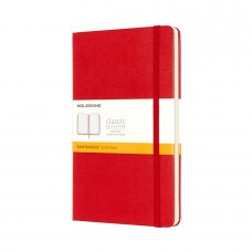 Moleskine Ruled notebook hardcover Red Large, Classic collection