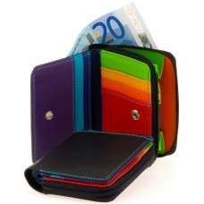Small Wallet Zipround, diverse kleuren