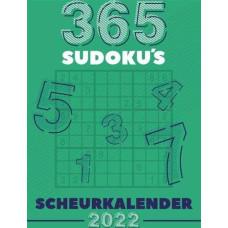 2022 Scheurkalender 365 Sudoku's