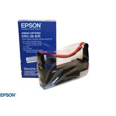 PRINTERLINT EPSON C43S015245 ERC38 ZWART/ROOD