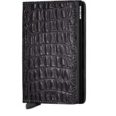 Secrid Slimwallet Nile Black met zwarte cardprotector